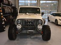 Options:  2007 Jeep Wrangler Unlimited X|White|Here At
