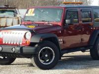 Options:  2007 Jeep Wrangler Unlimited X|Take A Look At
