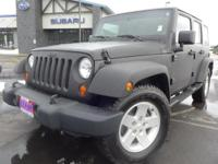 Options:  2007 Jeep Wrangler Unlimited X|Black|Easy