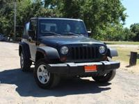 Our 2007 Jeep Wrangler X 4x4 can't be beat for