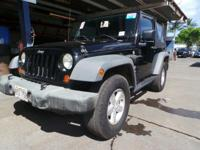 Look at this 2007 Jeep Wrangler X. Its Manual