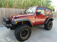 2007 Jeep Wrangler X - 4x4 - SUV- 2dr - Soft Top - 3.8L