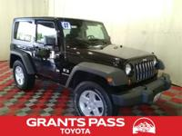 CARFAX One-Owner. Clean CARFAX. Black 2007 Jeep
