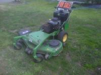 I am selling my 2007 John Deere 48 inch walk behind