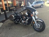 We are selling a 2007 Kawasaki 1600, it has 22,520
