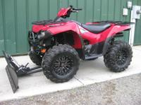 2007 KAWASAKI 4X4 BRUTEFORCE WITH BRAND NEW NEVER USED