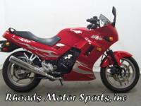 2007 Kawasaki EX250 Ninja with 1970 Miles This is a