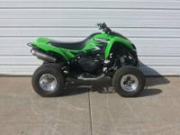 2007 Kawasaki KFX 700 is in perfect condition and set