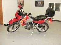 2007 Kawasaki KLR650, Electric Start, 6800 Miles, Must