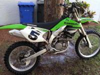 2007 Kawasaki KX450f in excellent condition. The bike