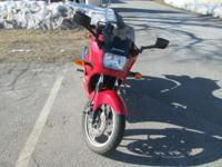 I am selling a 2007 Kawasaki Ninja 250 that currently