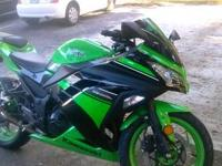2007 KAWASAKI NINJA EX 250 LOW MILES 11,140, GREAT