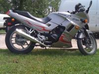 07 kawasaki ninja 250, 4,571 miles on it, runs