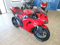 This 2007 ZX-10 is one powerful bike! In 2007 it had