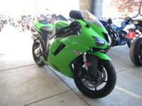 The ZX-6Rs all-new engine was upgraded from the