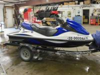 2007 Kawasaki STX-12F is in great shape and only 81