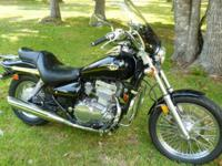 Very clean Vulcan 500, has 9,480 miles on it, owned by