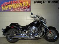 2007 Kawasaki Vulcan 900 motorcycle for sale with only