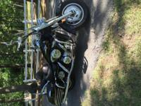2007 Kawasaki Vulcan Nomad 1600. It has approximately