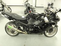 2007 Kawasaki ZX1400, Black,Tires are in great shape,
