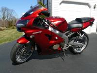 2007 Kawasaki ZZR 600, Excellent condition, adult