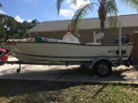 2006 key largo 160 center console (15ft 10in)50hp