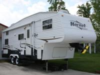 Check out this 2007 Hornet 258BH made by Keystone. I'm