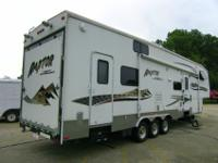 This is a very nice RV/Toy Hauler. It was repossessed