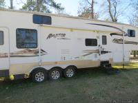 2007 Keystone Raptor Toy Hauler 38ft 550 watt Onan