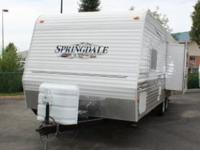 2007 Keystone Springdale 250RKS. Previously owned