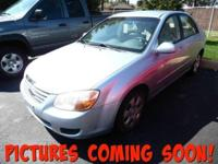 This outstanding example of a 2007 Kia Spectra EX is