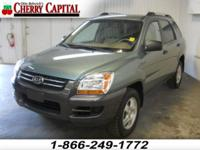 Options Included: N/A**This 2007 Kia Sportage has