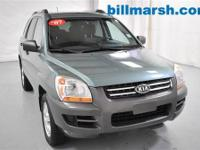 Sportage LX, Green, Air Conditioning, AM/FM/CD Stereo
