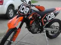 2007 KTM 250 sxf.... $3,500 obo. Purchased new as left