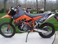 2007 KTM 950R Super Enduro - One owner - like new -