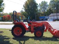 I HAVE A KUBOTA L3400DT 4X4 WITH A KUBOTA LA463 LOADER.
