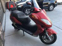 2007 Lancer Scooter 250. Automatic, only 788 original