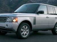 Options:  2007 Land Rover Range Rover Hse|Gray/|V8 4.4L