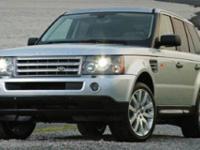 Land Rover Range Rover Sport HSE 4WDRecent Arrival!