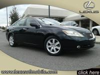 Introducing the 2007 Lexus ES 350, step in and get