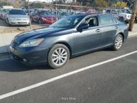 Options:  2007 Lexus Es 350 Sedan|75|656 Miles|Ext