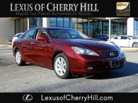 2007 Lexus ES 350 CARFAX One-Owner. Clean CARFAX. Red