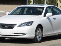 2007 Lexus ES 350. Cashmere Leather. Extra roomy.