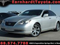 We are happy to offer you this nice 2007 Lexus ES350