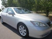 LOADED LEXUS ES 350 NAVIGATION, SUNROOF BACK UP CAMERA