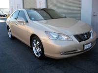 2007 Lexus ES350 w/ Ultra Luxury Package, Beige on Tan