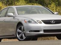 Options:  2007 Lexus Gs 350 We Recently Got In And