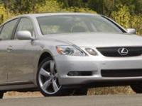 This Lexus GS 350 has a powerful Gas V6 3.5L/211 engine