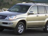 Boasts 19 Highway MPG and 15 City MPG! This Lexus GX
