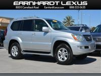 New Arrival! Priced below market! This GX 470 will sell